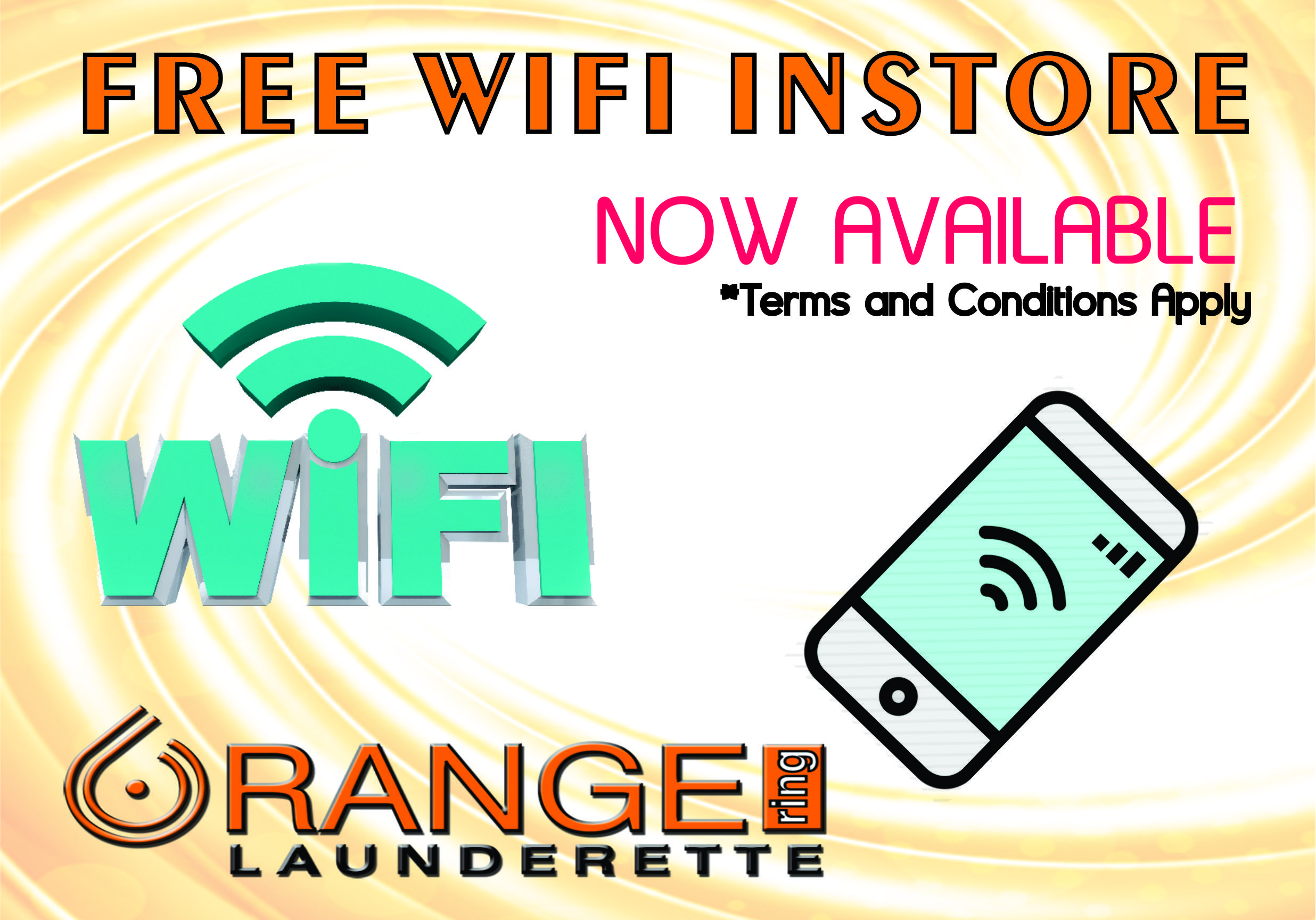 Orange WIFI March 2 compressor